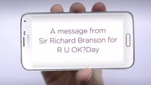 Virgin helps customers ask R U OK?